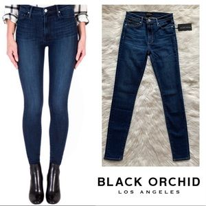 New! BLACK ORCHID Gisele High Rise Skinny Jeans